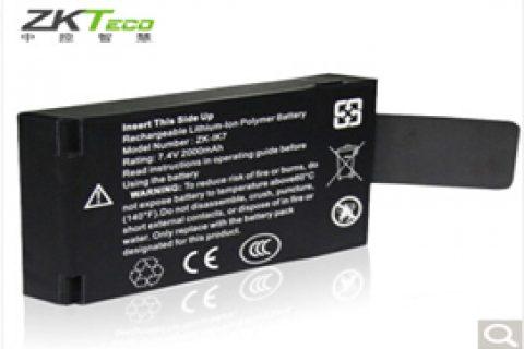 中控(ZKTeco)iface702/302/301/701 考勤机7.4v后备锂电池 香槟金