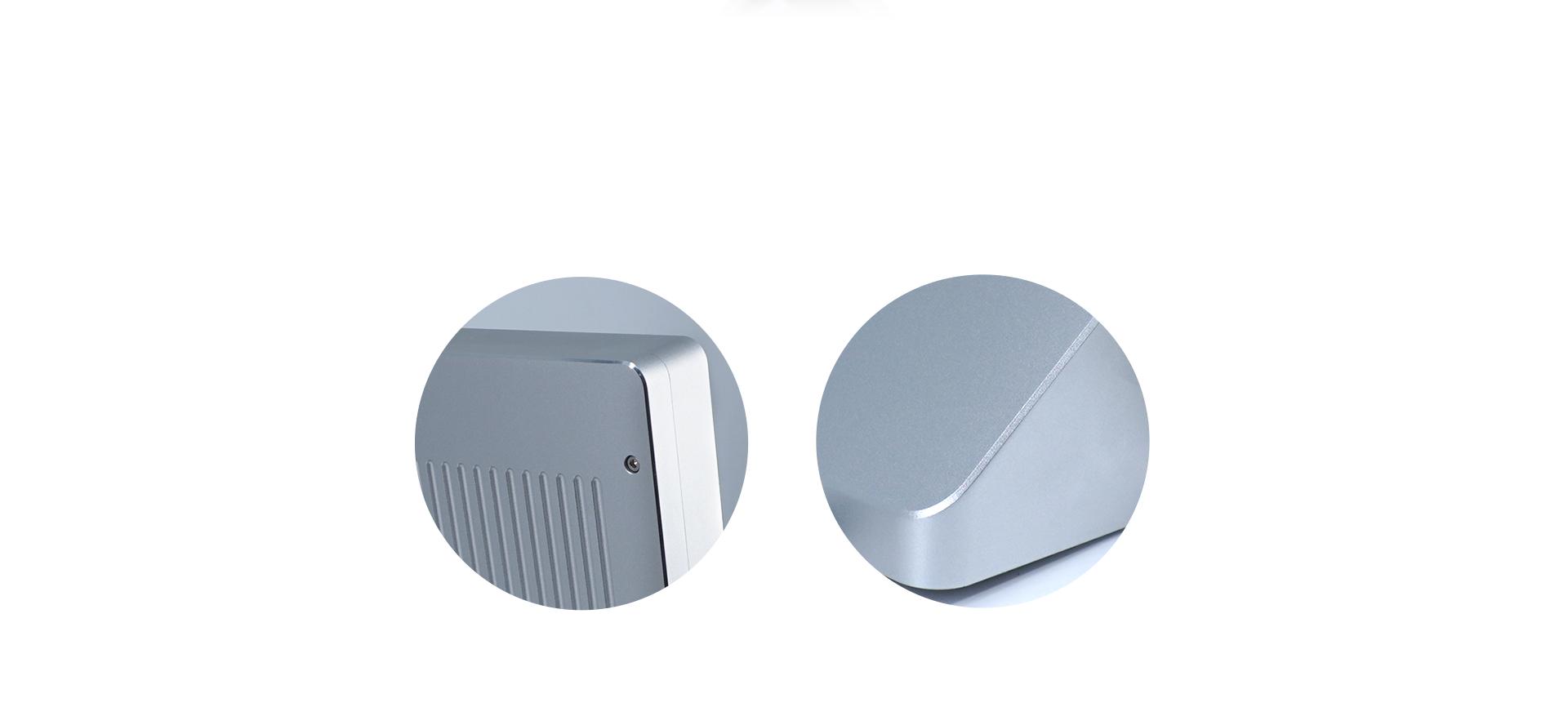 考勤易FACEX1人脸识别机优质铝制外壳